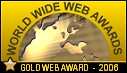 Gold Web Award 2006 - World Wide Web Awards