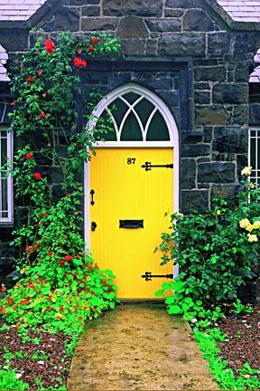 Yellow Door Irish Cottage & Photography of Ireland - Yellow Door Irish Cottage by Locke Heemstra